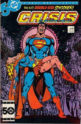 Crisis on Infinite Earths: Death of Supergirl Issue #7 1985 (Volume 1):  Marv Wolfman, George Perez: Amazon.com: Books