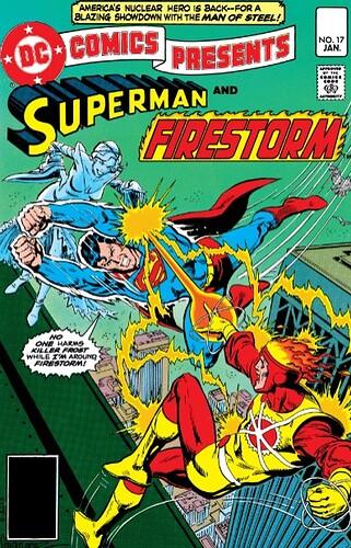 DC Comics Presents 17 Firestorm