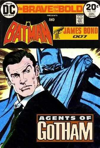 Batman and james Bond