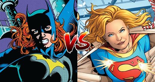Batman Vs Superman Poll Batgirl Supergrirl