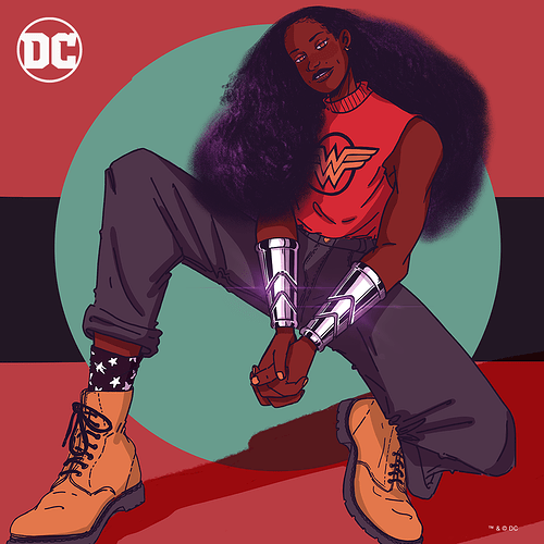 BHM_SOCIAL GRAPHIC ARTWORK_Nubia_THE REAL ONE