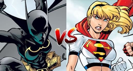 Batman Vs Superman Poll Batgirl 2 Supergirl 2