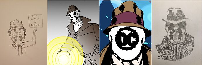 Rorschach Combo