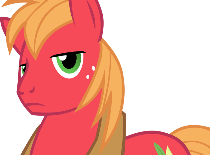 Big Mac being skeptical by FrownFactory on DeviantArt