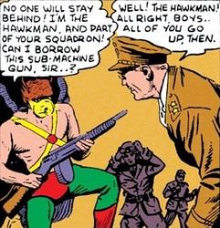 Hawkman Machine Gun
