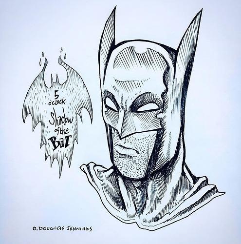 five oclock shadow of the bat