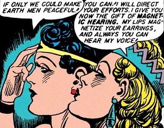 Wonder Woman Magnetic Hearing