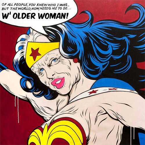 Old Wonder woman 1