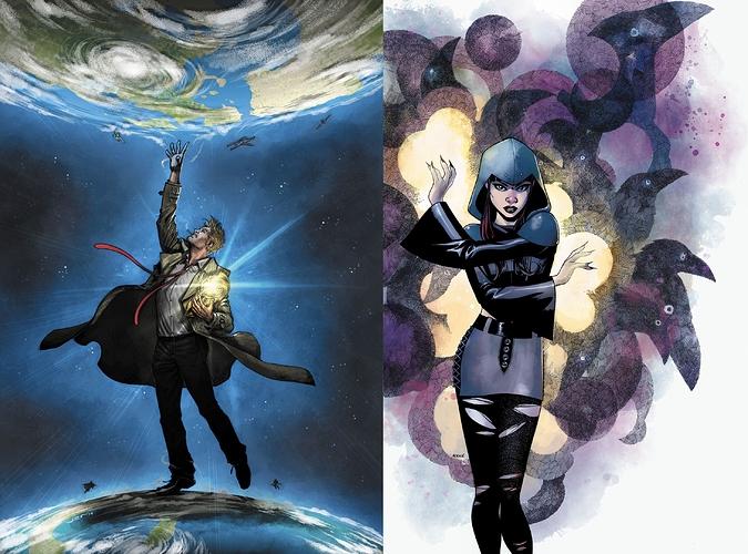 Constantine vs. Raven