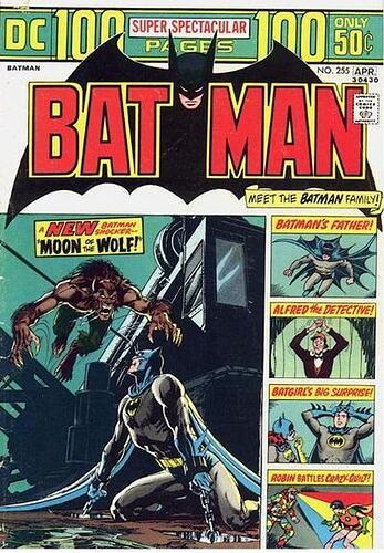 Super Spectac BATMAN 255 Cover