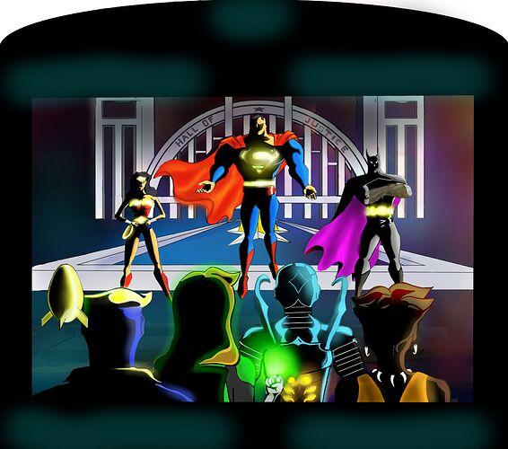 Vroom JLA 1.Unite The 7.1.3.8