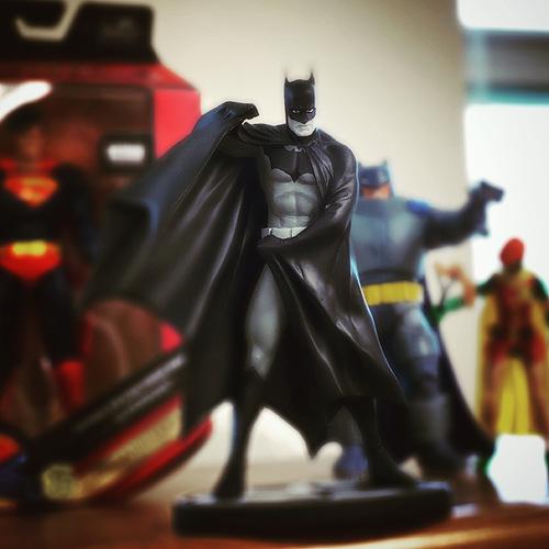 Batman black and white Ross figure
