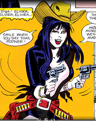 Elvira Gunslinger
