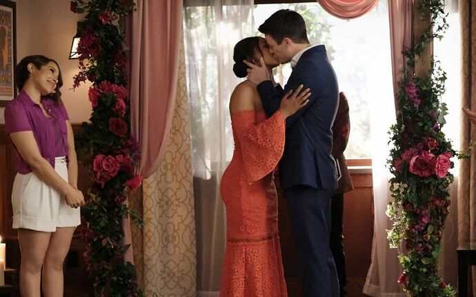 Barry and Iris
