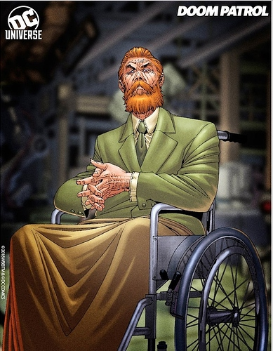 Dr. Niles Caulder