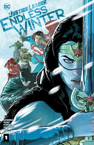 Justice League - Endless Winter #1 Cover