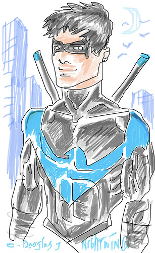 iPhone-Nightwing-sketch