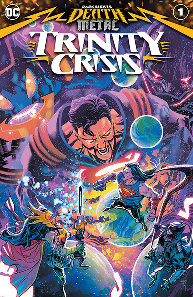 Dark Nights Death Metal Trinity Crisis Vol  1 1