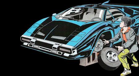 Countach Batmobile