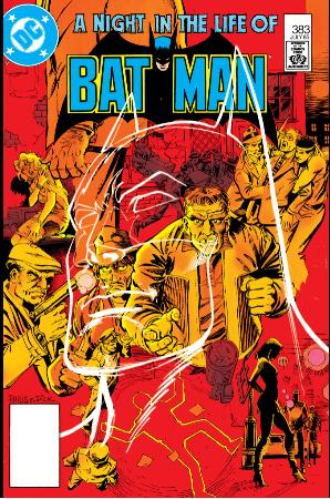 Batman 383 cover