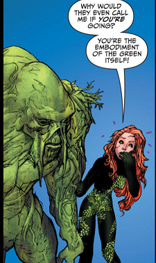 Poison Ivy and Swamp Thing 2