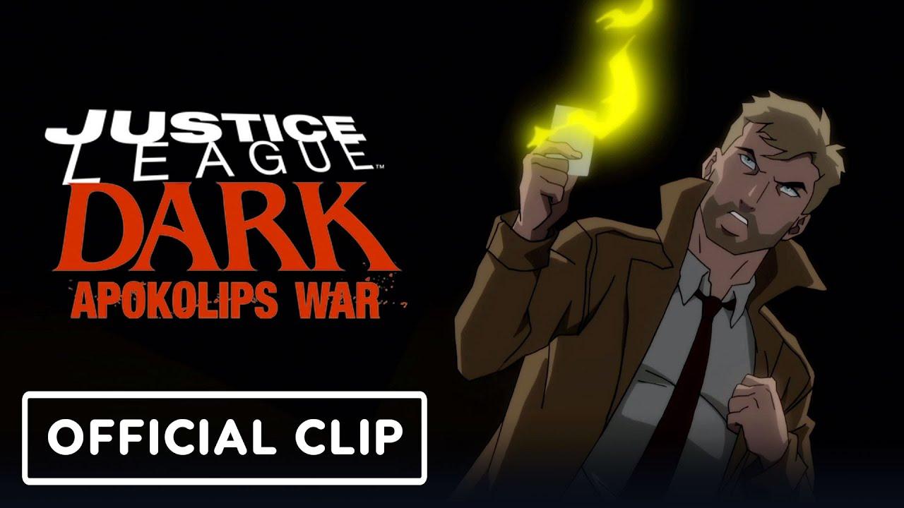 Spoilers Justice League Dark Apokolips War Movies Dc Universe