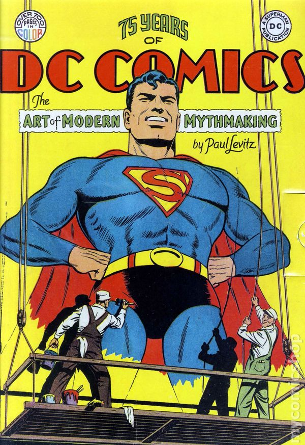 75 years of DC Comics cover
