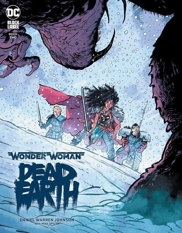 Wonder oman Dead Earth #2