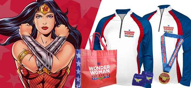 DC Wonder WomanTM Virtual Run Series