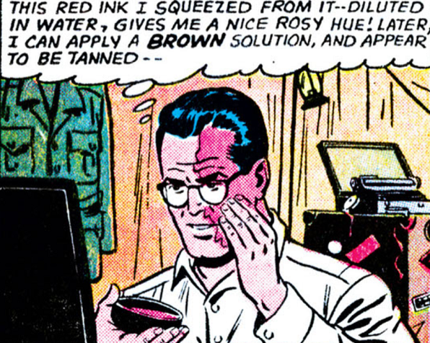 Clark Kent redface