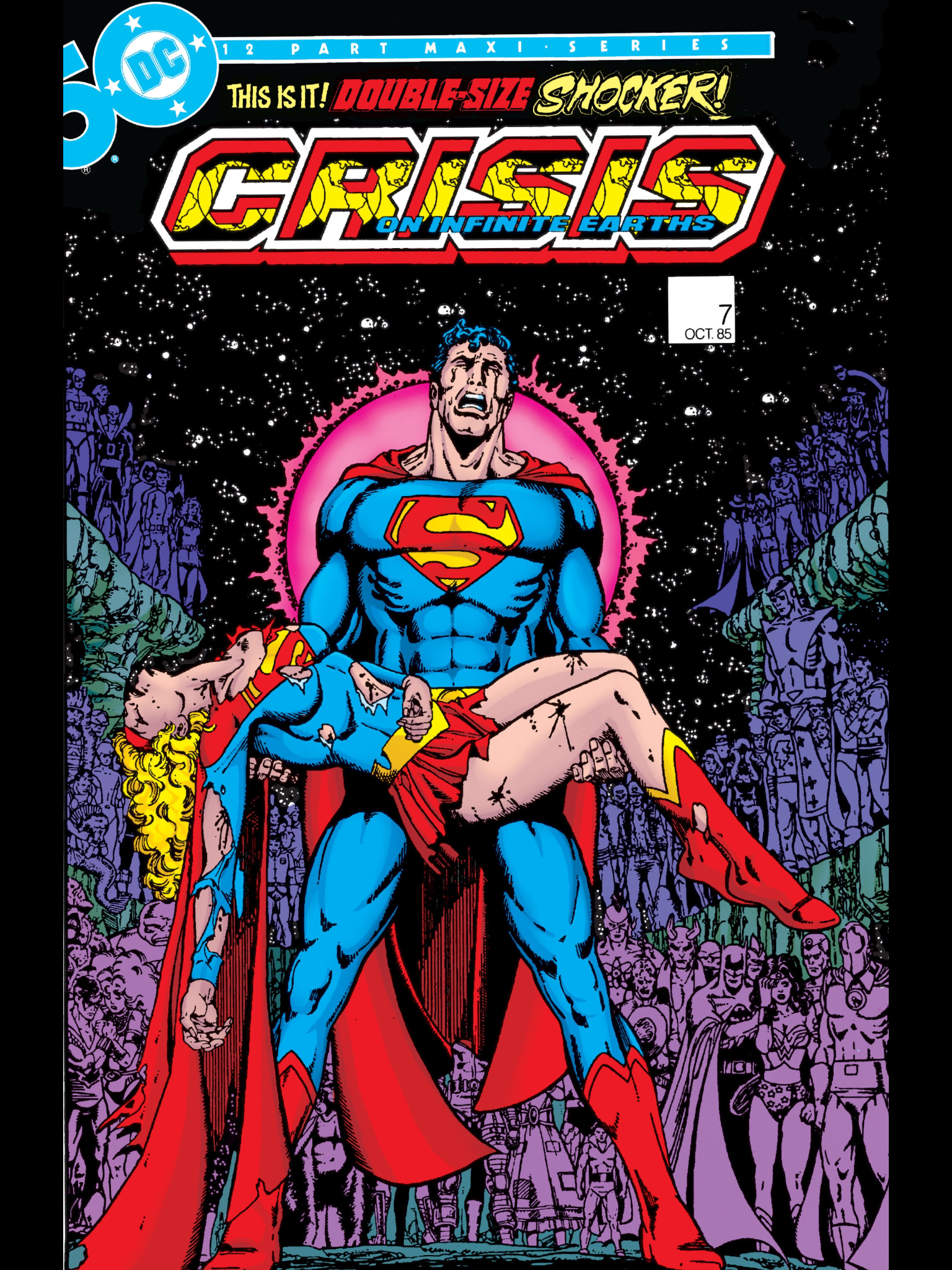 DC History Club: Crisis on Infinite Earths, The History of the Greatest  Event in Comic's History - Fan Club Discussions - DC Universe