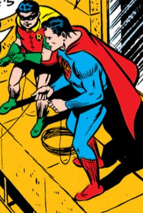 robin superman