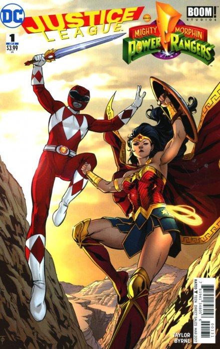 red ranger - Wonder woman