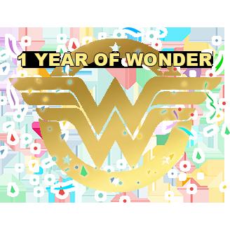 1 year of wonder alt text
