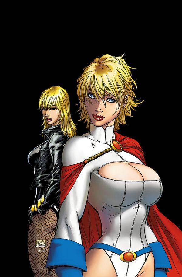 Black Canary Power Girl