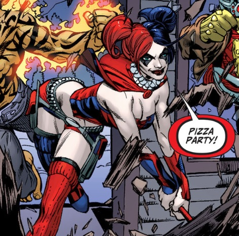 Harley Pizza Party