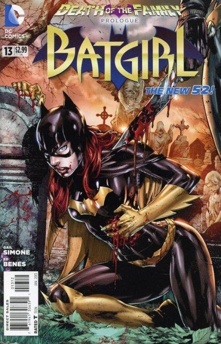 batgirl 2n print