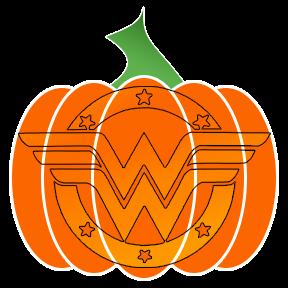 world of wonder pumpkin flair