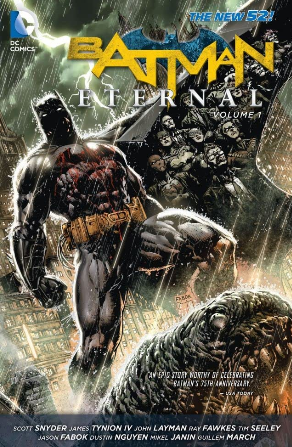 Batman Eternal cover
