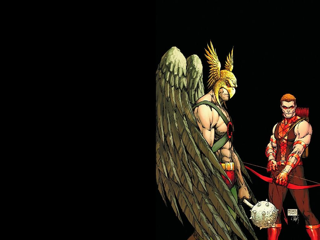 Hawkman Red Arrow Wallpaper