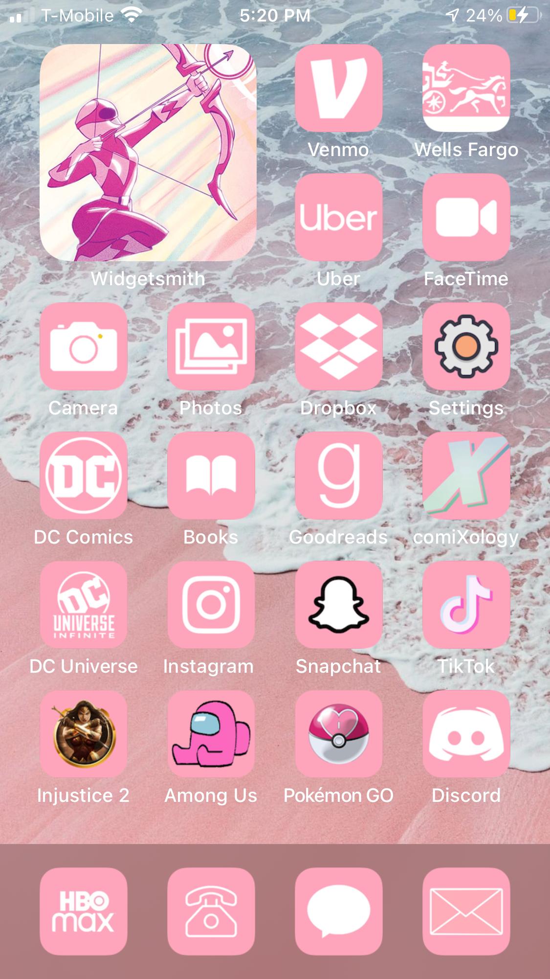 Ios 14 Custom Icons Home Screen Theme Widgets Etc Fan Creations Dc Universe