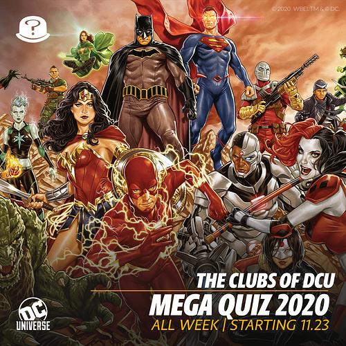 Mega quiz 2020