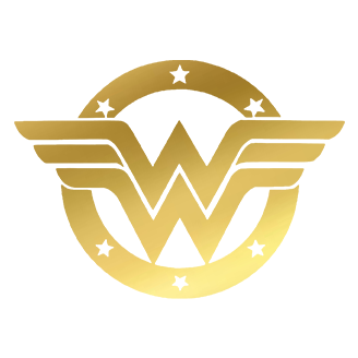 wonder woman gold logo